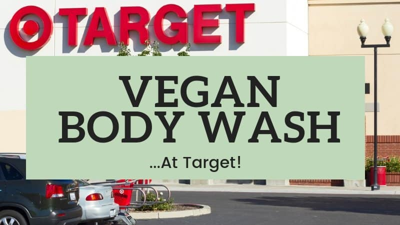 vegan body wash at target