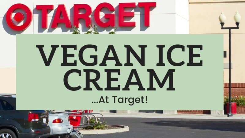vegan ice cream at target