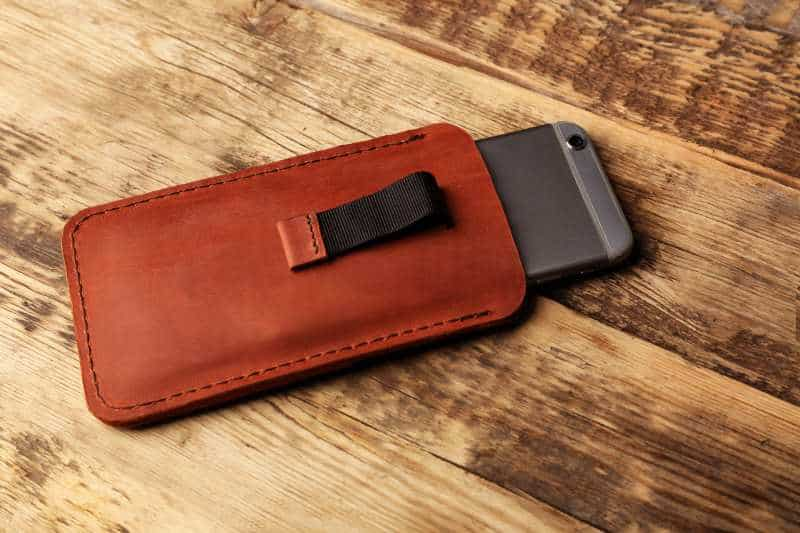 vegan leahter iphone wallet