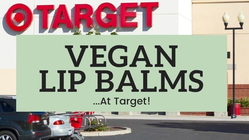 vegan lip balm at target