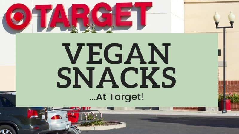 vegan snacks at target