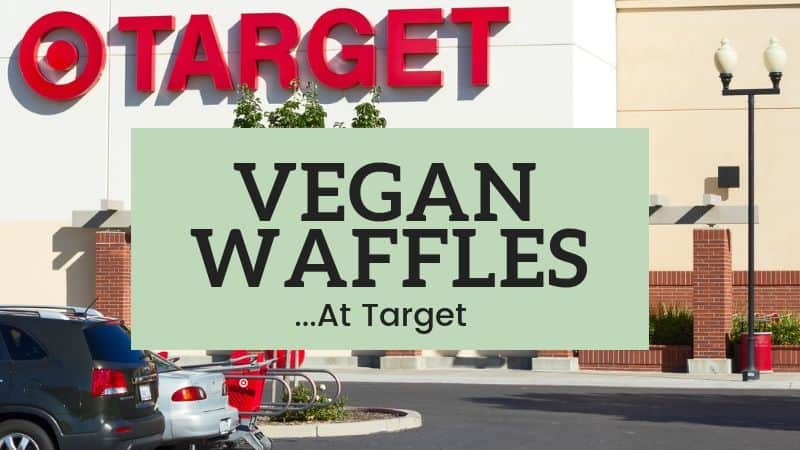 vegan waffles at target
