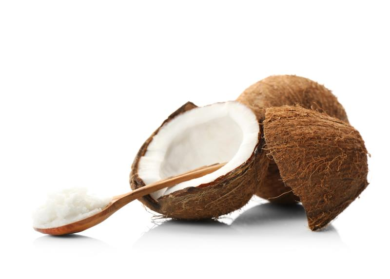 Coconut Butter on a spoon