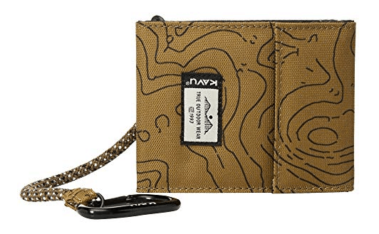 TAN SEYMORE BIFOLD WALLET BY KAVU