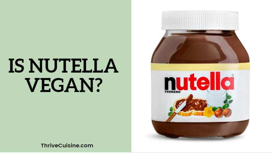 is nutella vegan