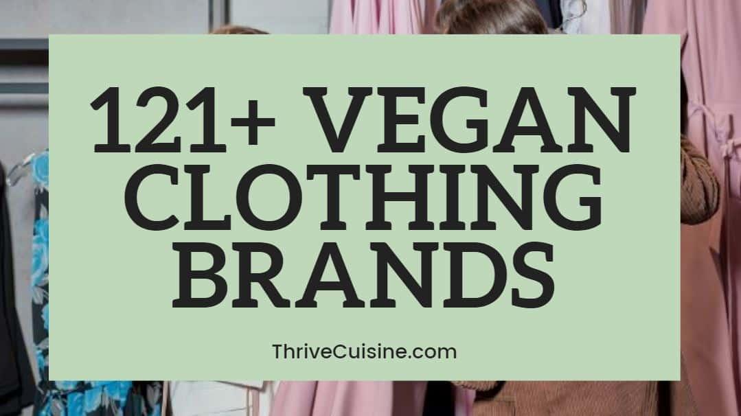 121 VEGAN CLOTHING BRANDS