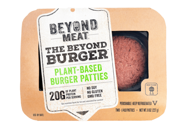 beyond burger in packaging