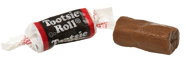 photo of tootsie roll