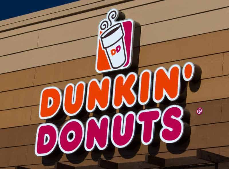 DUNKIN DONUTS SIGN AND LOGO