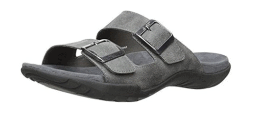 MENS JUNO VEGAN LEATHER SLIDE SANDALS FROM J-41