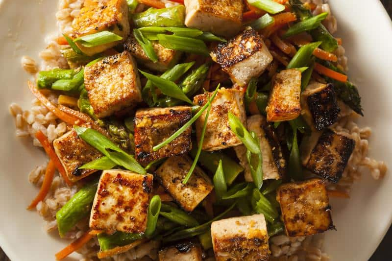 tofu in a delicious stir fry