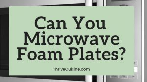Can you microwave foam plates