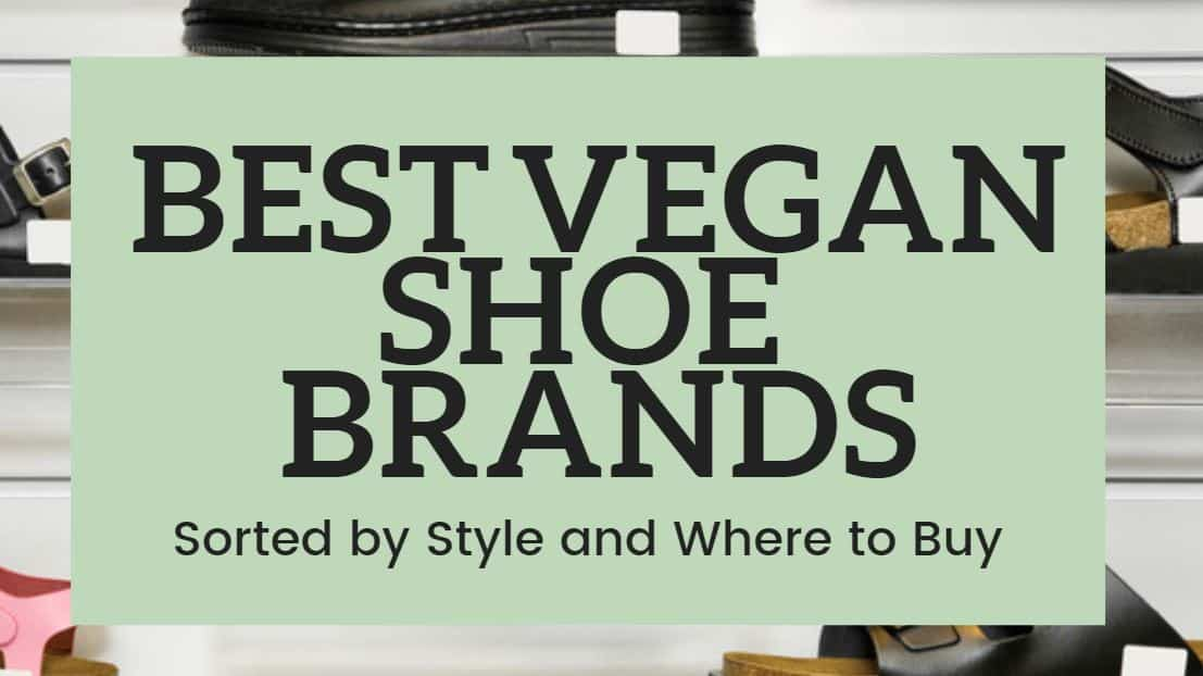 best vegan shoe brands sorted by style and where to buy
