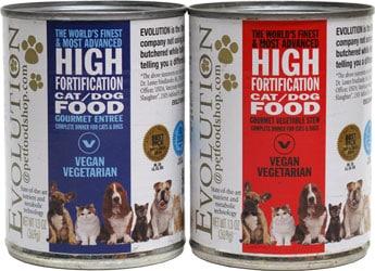 evolution diet canned wet vegetarian dog food