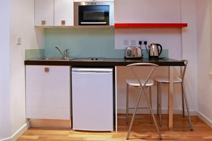 small dorm kitchen