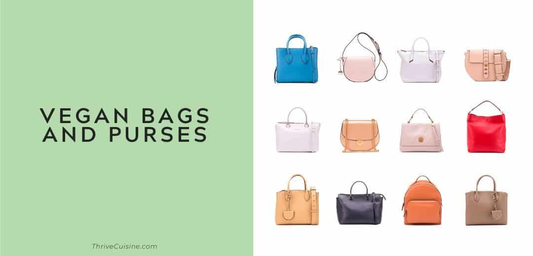 vegan bags and purses graphic