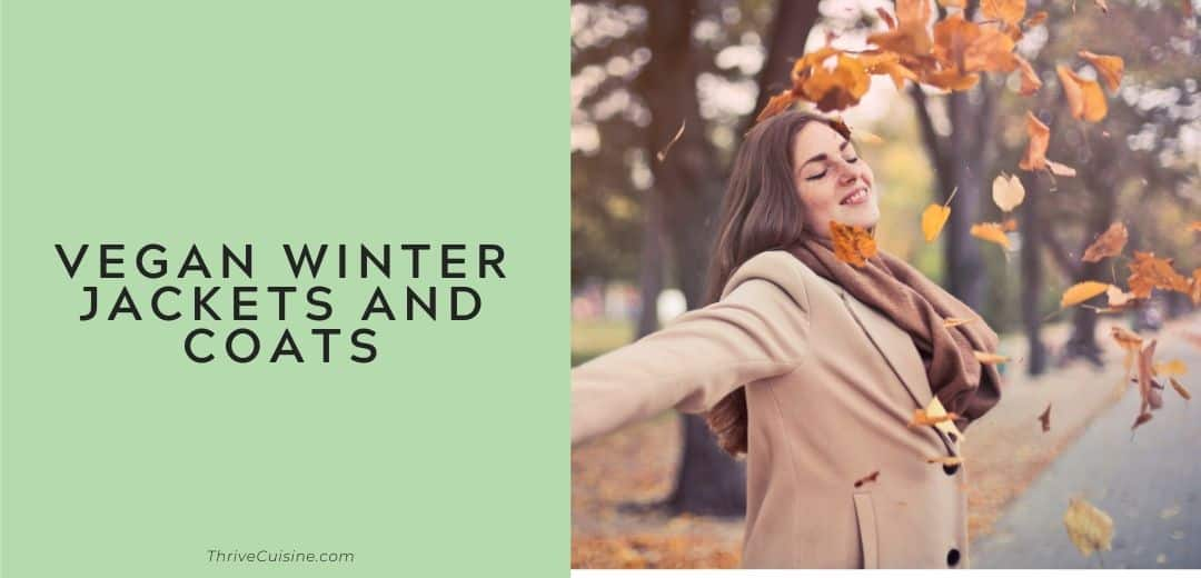 vegan winter jackets and coats graphic