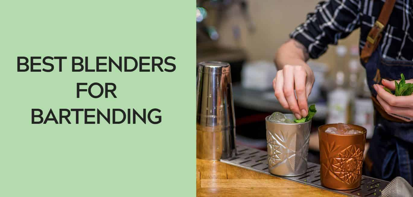Best Blenders for Bartending