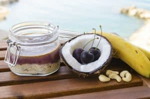 Overnight Oats with Coconut Milk