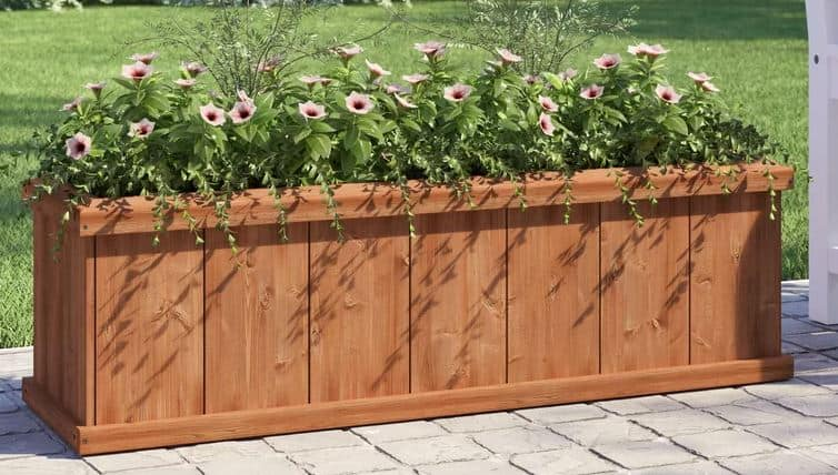 Araluen Cedar Planter Box
