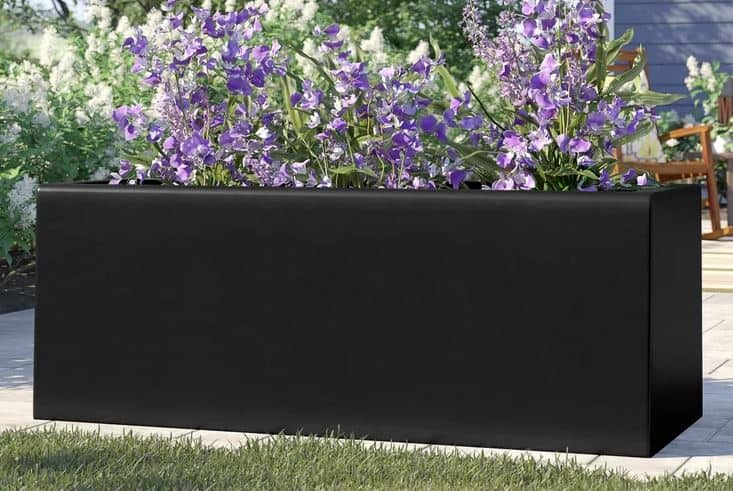 Barclay Rectangle Fiberglass Planter Box