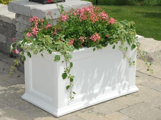 Demonte Self Watering Plastic Planter Box
