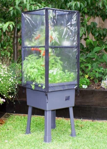 Elevating Self-Watering Plastic Raised Garden