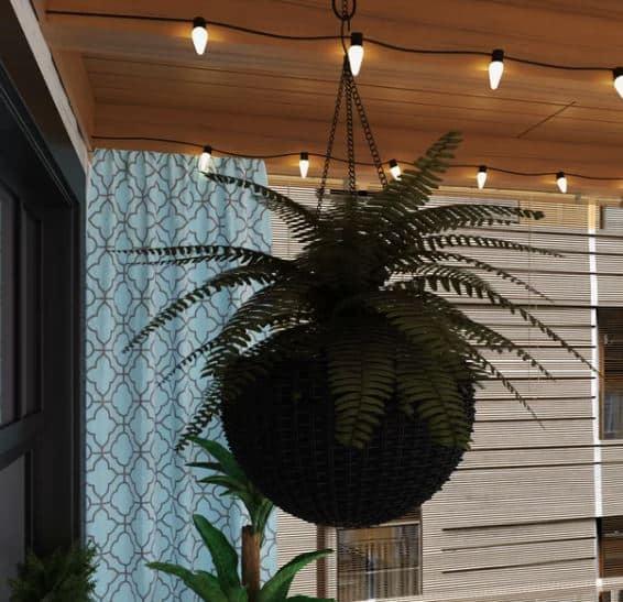 Mammie Resin Hanging Planter Set