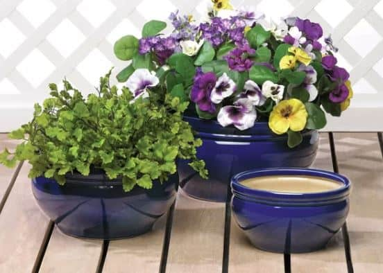 Trentelman Ceramic Planter Set