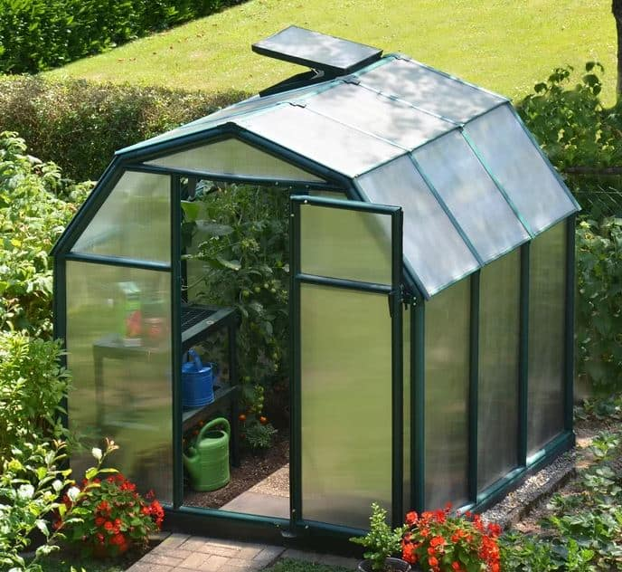 Rion EcoGrow Twin Wall Greenhouse