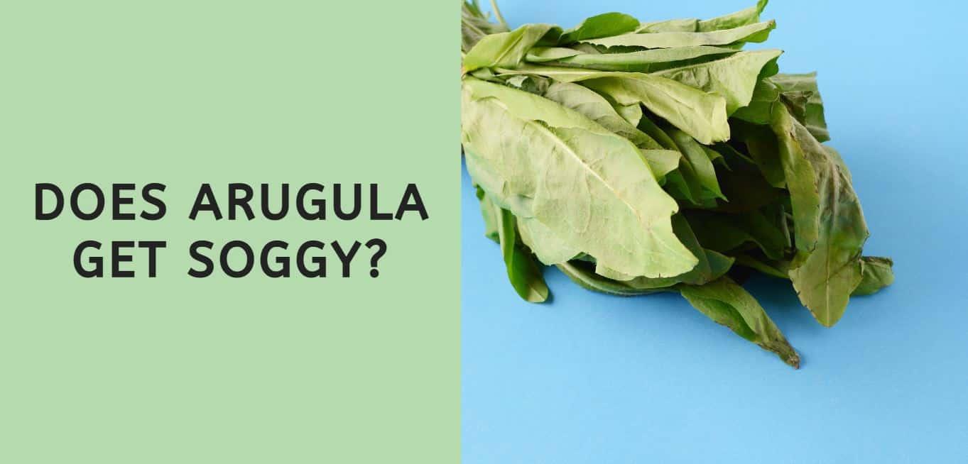 Does Arugula Get Soggy?