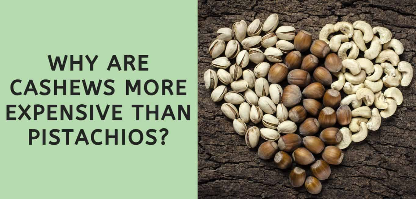 Why are Cashews More Expensive than Pistachios?