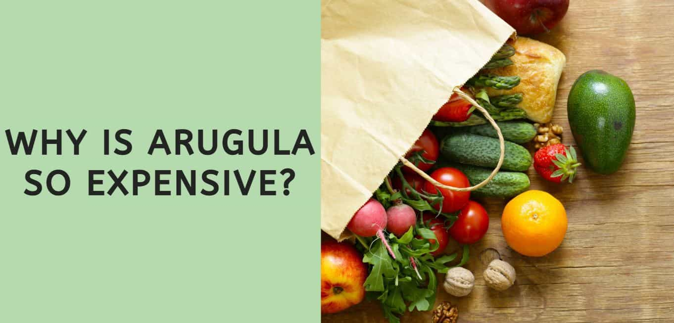 why is arugula so expensive?