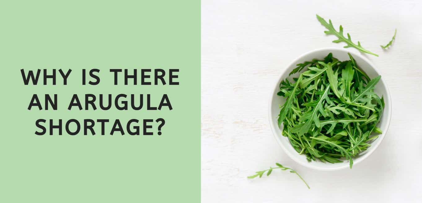Why is There an Arugula Shortage?