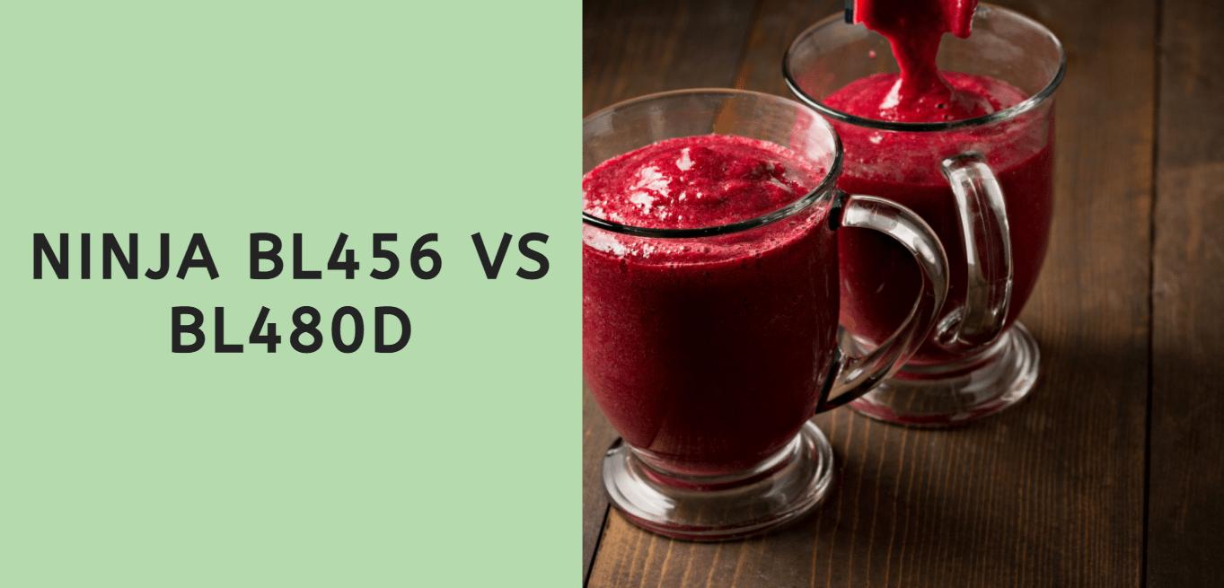 Ninja BL456 vs BL480D
