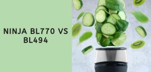 Ninja BL770 vs BL494