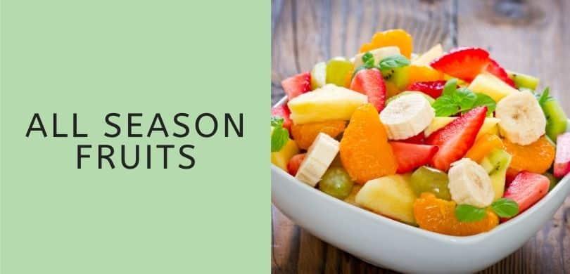 All Season Fruits