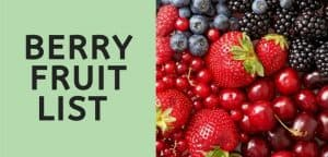 Berry Fruit List