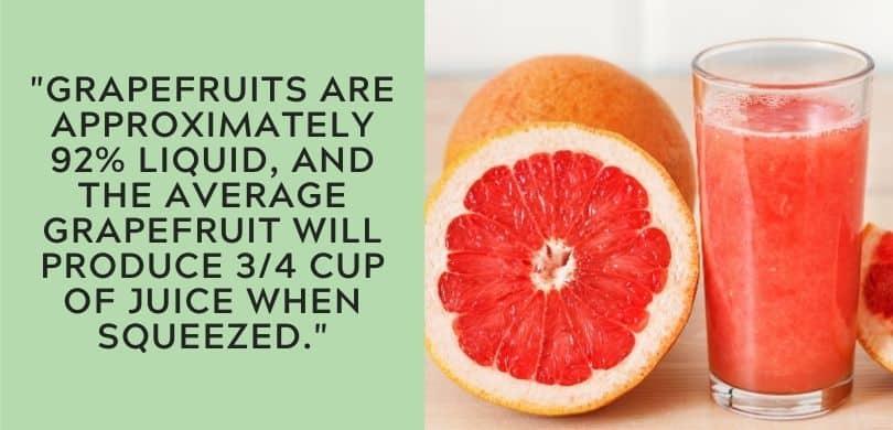 Grapefruit Juice Facts