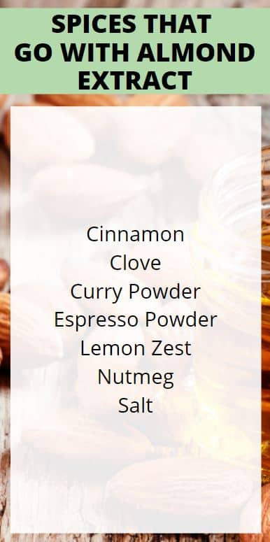 Spices that Go with Almond Extract