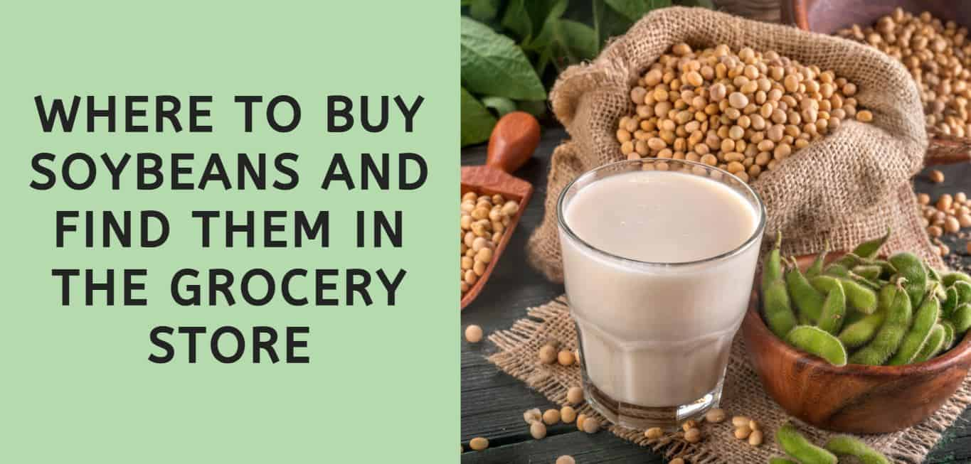 Where to Buy Soybeans