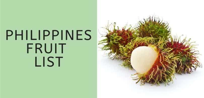 Philippines Fruit List