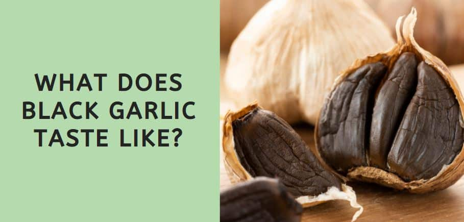 What Does Black Garlic Taste Like