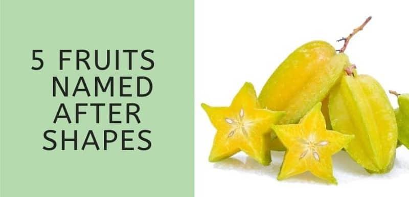Fruits Named After Shapes