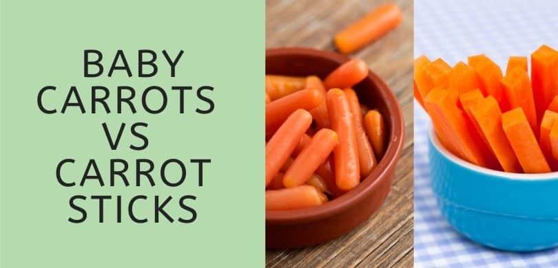 Baby Carrots vs Carrot Sticks