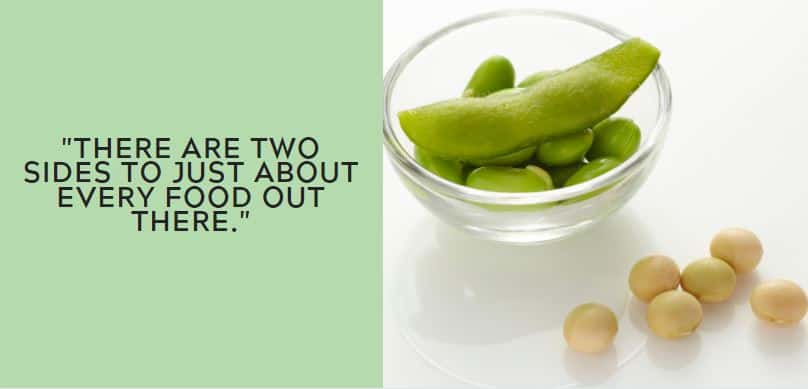There are two sides to just about every food out there.