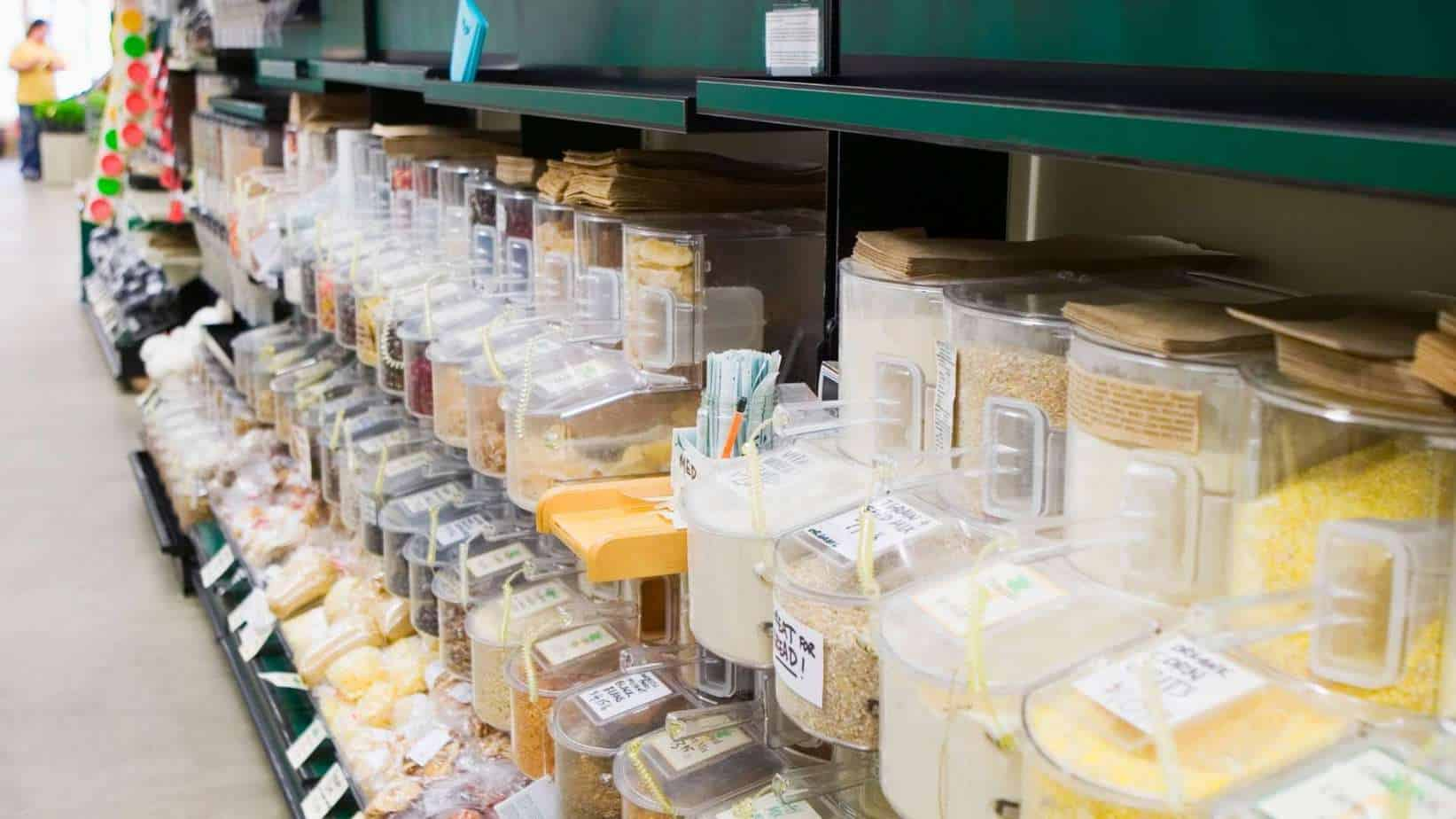 Baking aisle