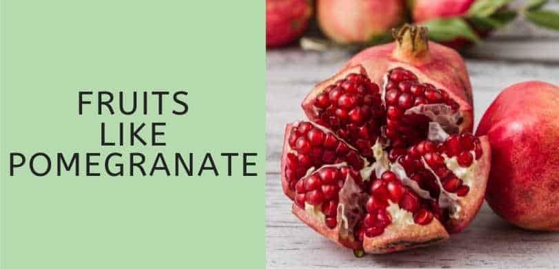 Fruits like pomegranate featured image
