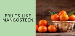 Fruits like mandarin