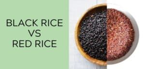 black rice vs red rice
